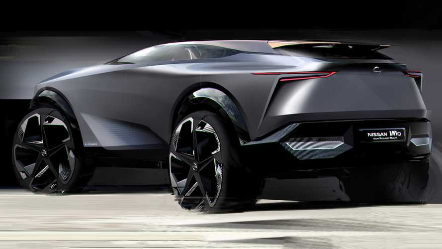 Nissan Teases IMQ Electric Crossover Concept Ahead Of Geneva