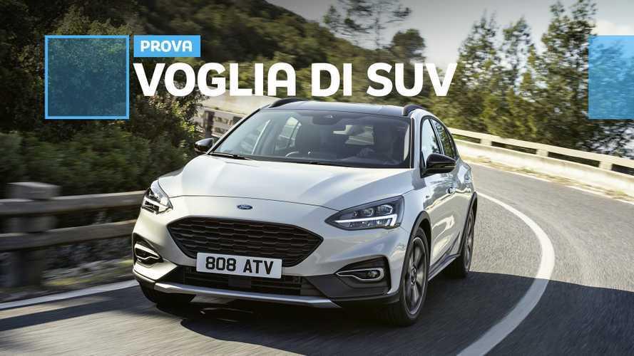 Ford Focus Active: la berlina si veste da crossover