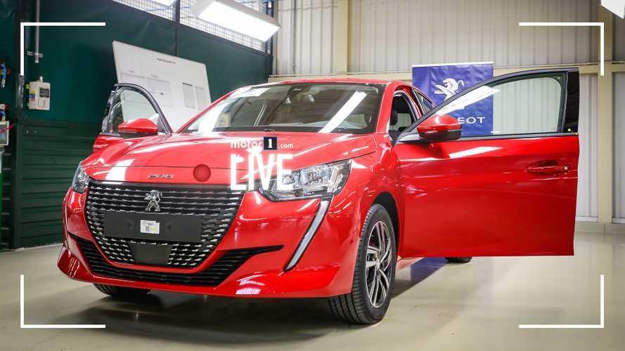 Nuova Peugeot 208, eccola dal vivo