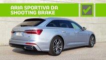 Audi A6 Avant, pro e contro
