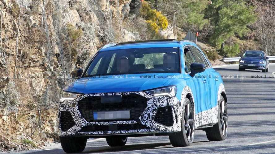 La future Audi RS Q3 se balade