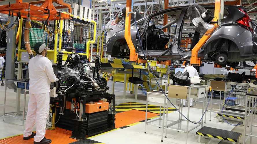 Covid-19 derruba números da indústria automotiva em quase 90%, diz Anfavea