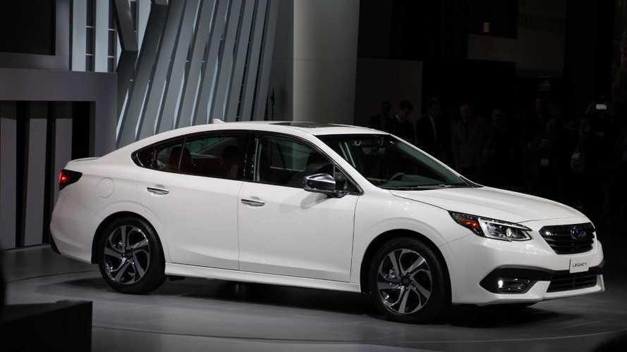 2020 Subaru Legacy Live Photos | Motor1.com Photos