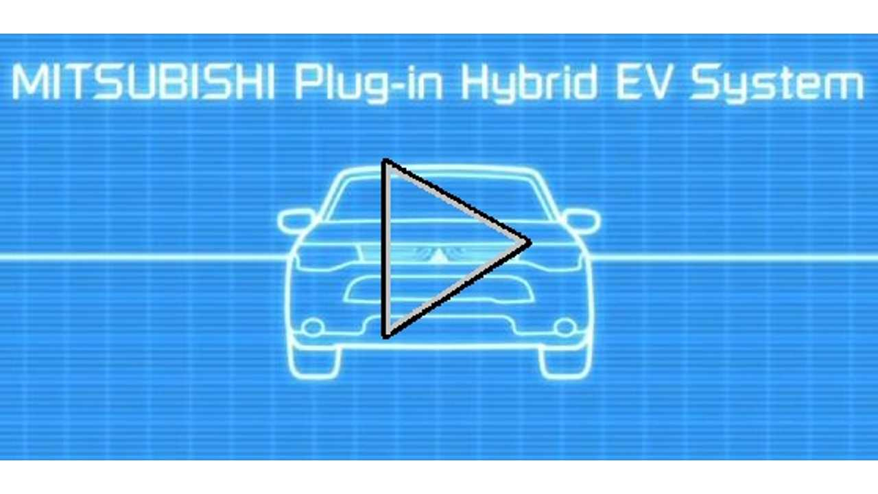 Video: Complex Operation of Mitsubishi Outlander PHEV Dumbed Down to the Extreme