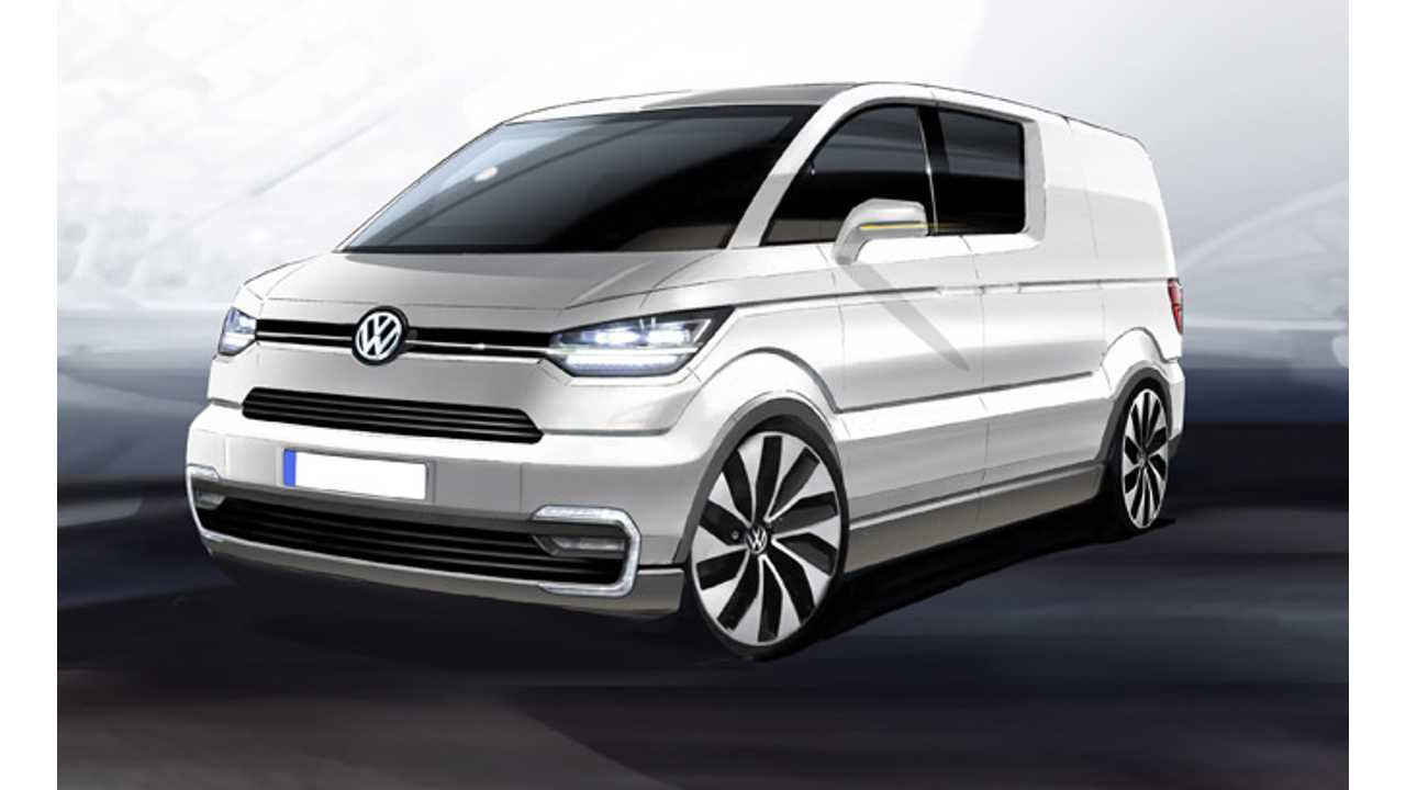 Volkswagen e-Co-Motion Electric Concept Transporter to Debut in Geneva