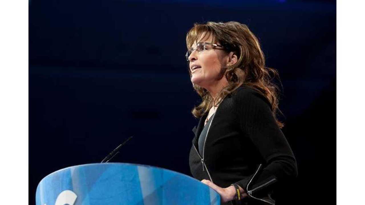 Sarah Palin Kicks Already Down Fisker, Swipes At