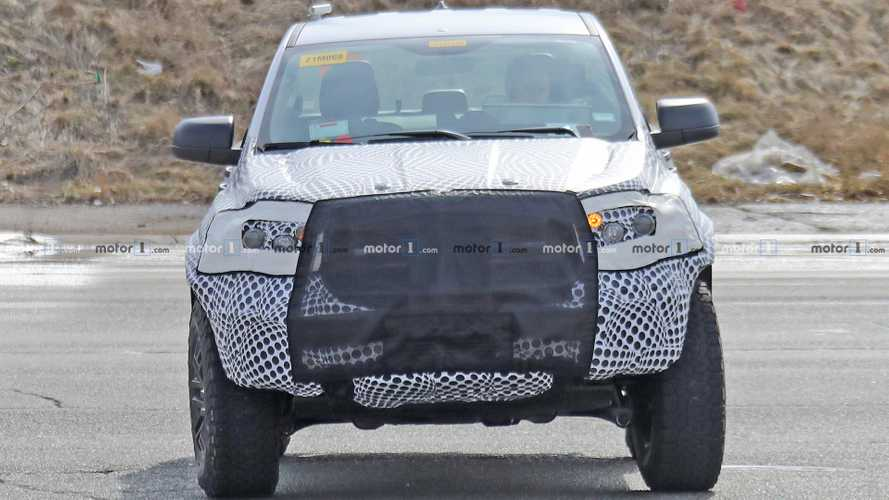 Ford Ranger Raptor шпионские фото
