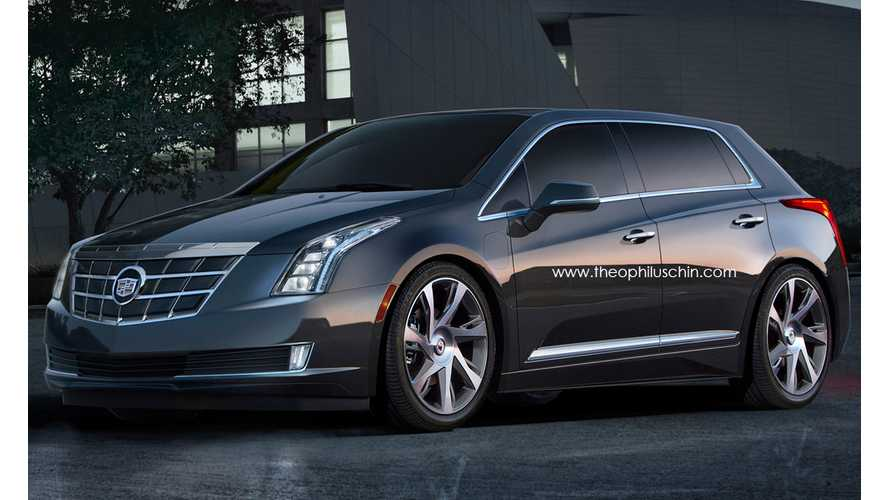 Cadillac ELR 5-Door Imagined