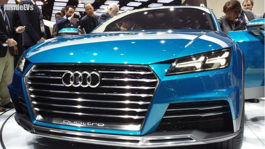 Audi Allroad E-Tron Shooting Brake Concept Live Reveal From 2014 Detroit Auto Show