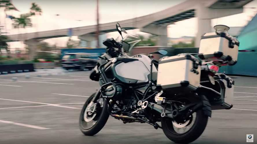 BMW Shows Off Riderless Bike At CES