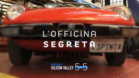 L'officina delle meraviglie Alfa Romeo a San Francisco