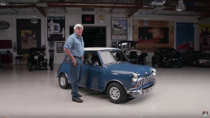 Jay Leno Morris Mini Minor