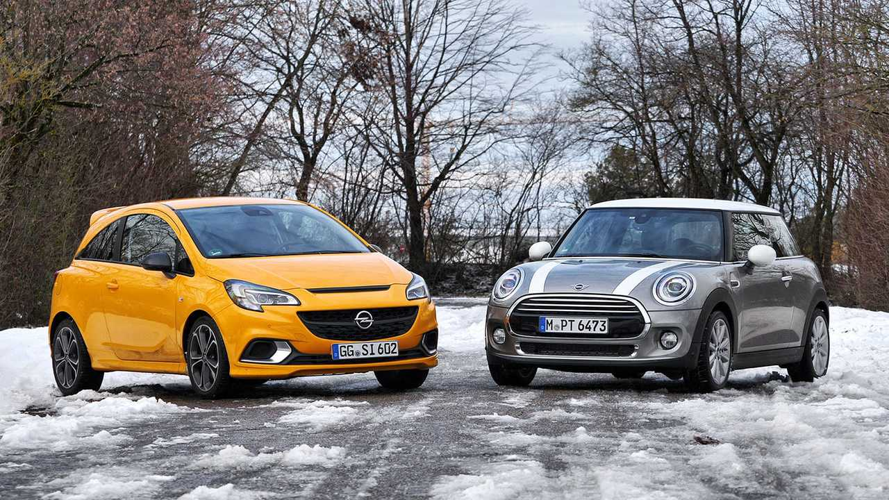 Mini Cooper vs. Opel Corsa GSi