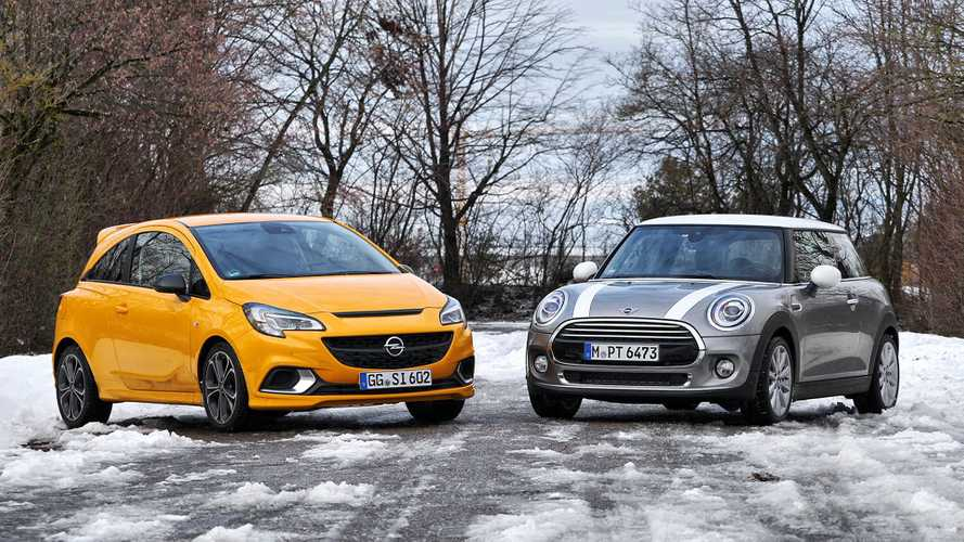 Test Opel Corsa GSi vs Mini Cooper