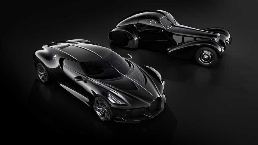"""Le mystère de la """"Voiture Noire"""" perdue de Bugatti"""
