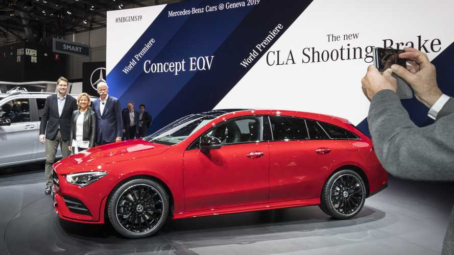 Mercedes CLA Shooting Brake at the 2019 Geneva Motor Show