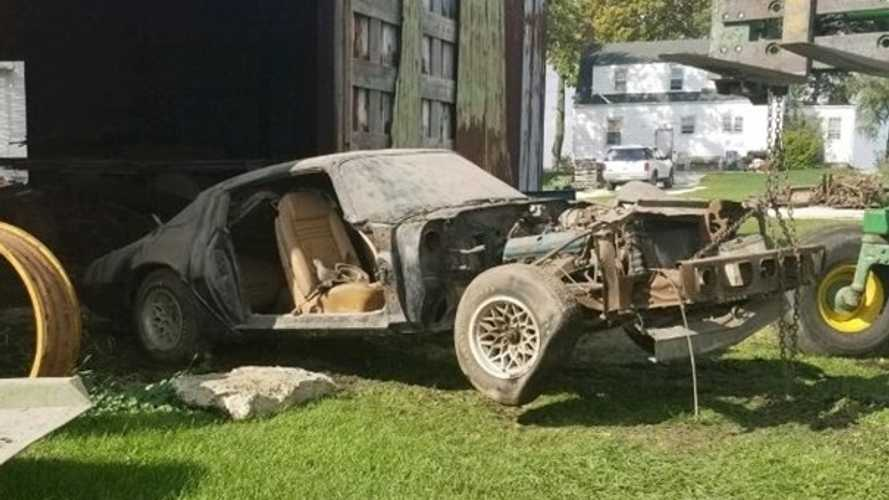 Steve McQueen's 1979 Pontiac Trans Am Pulled From Illinois Barn