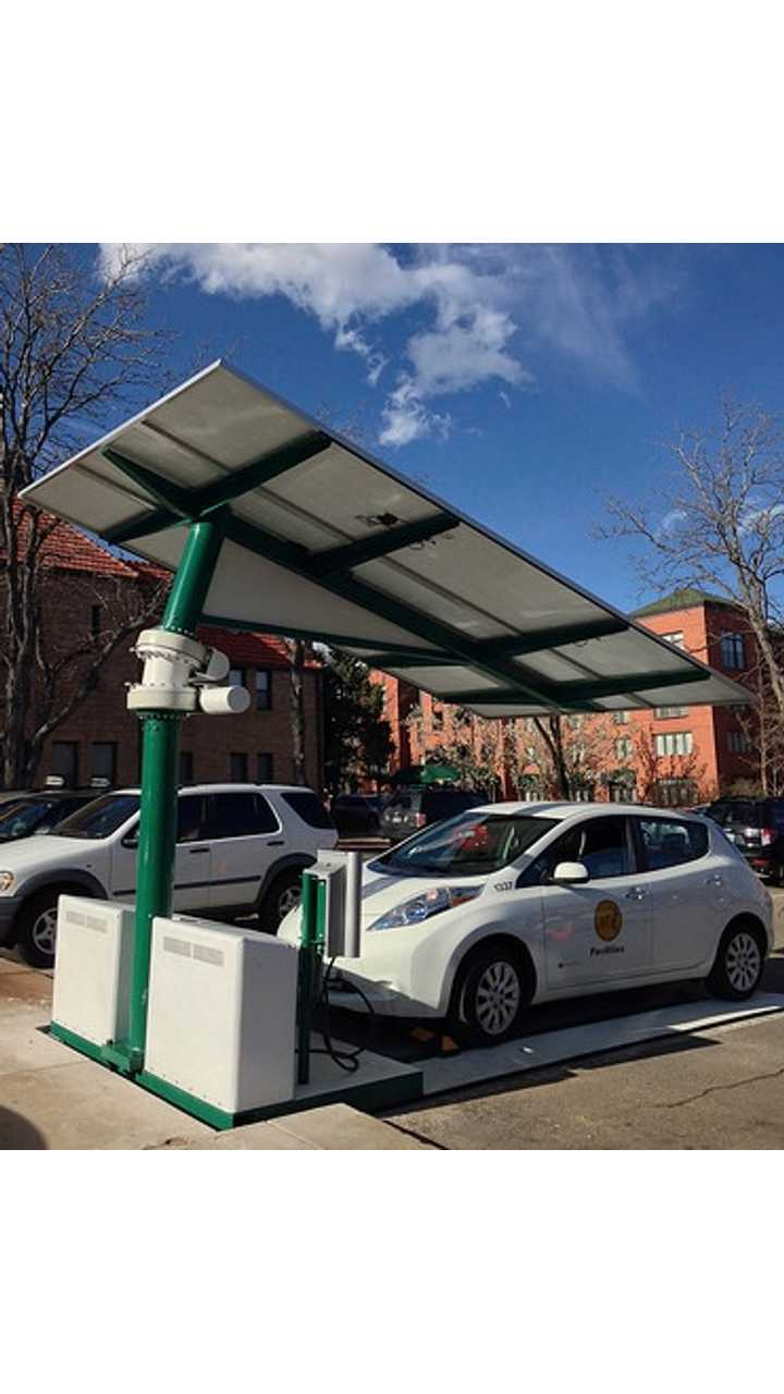 Boulder, Colorado Deploys Envision Solar EV ARC Charging Station
