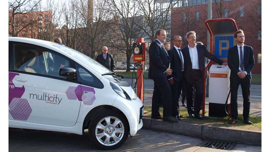 Citroën Teams With TOTAL Germany, The New Motion and e8energy to Install 3 CHAdeMO Chargers In Berlin