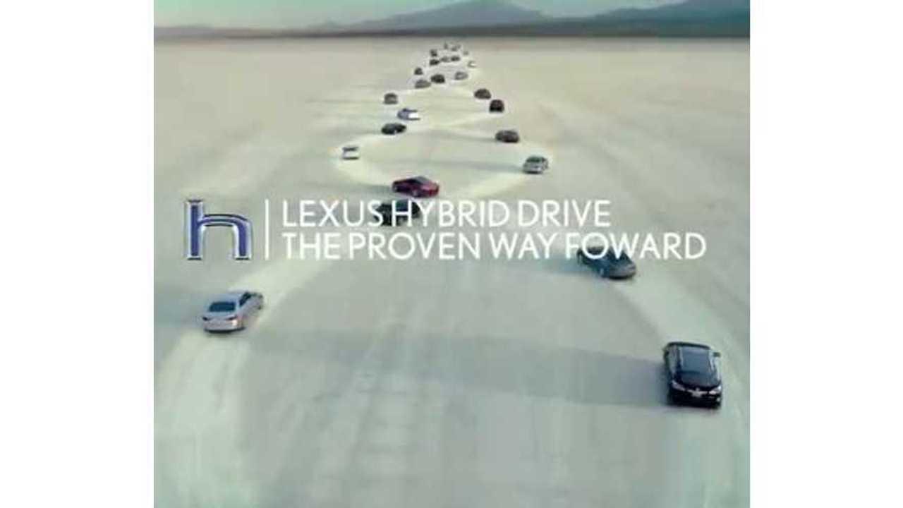 Lexus Hybrid Drive - The Proven Way