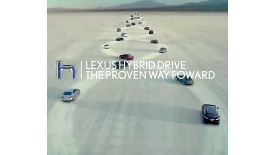 Lexus Hybrid Drive - The Proven Way