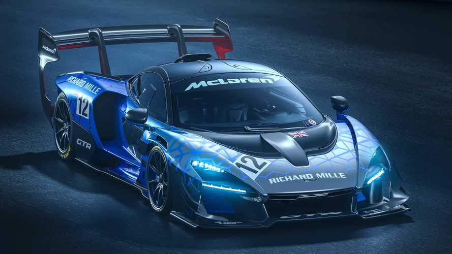 McLaren Senna GTR revealed as extreme track beast