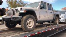 Treyler Üzerinde Jeep Gladyatör