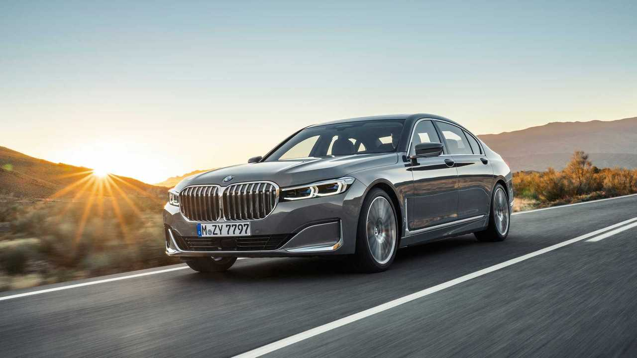 BMW 7er Facelift