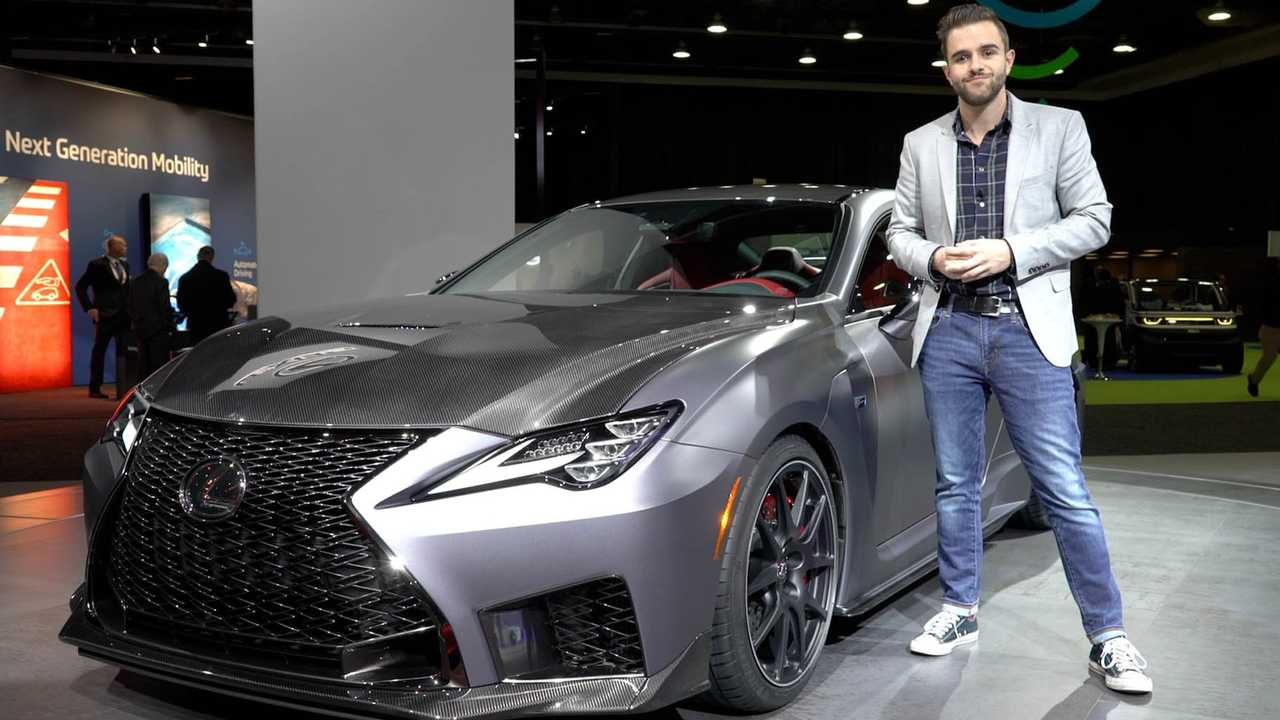 2020 Lexus RC F Track Edition: Live From The Detroit Auto Show