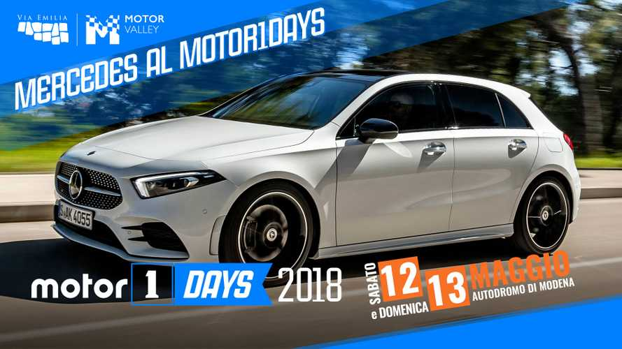 Mercedes tra drift ed high-tech al Motor1Days 2018