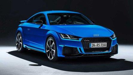 Audi TT RS 2019 atualiza design, embora não pareça