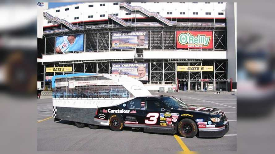 This Crazy Cool NASCAR RV Is Built From A 1989 Olds Sedan