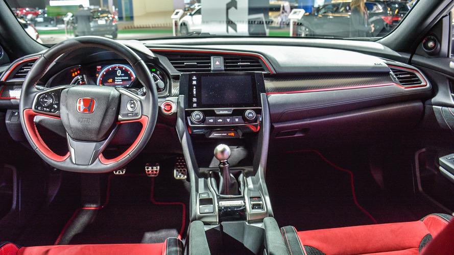 Honda Civic Type R Prototype Interior Revealed In Montreal