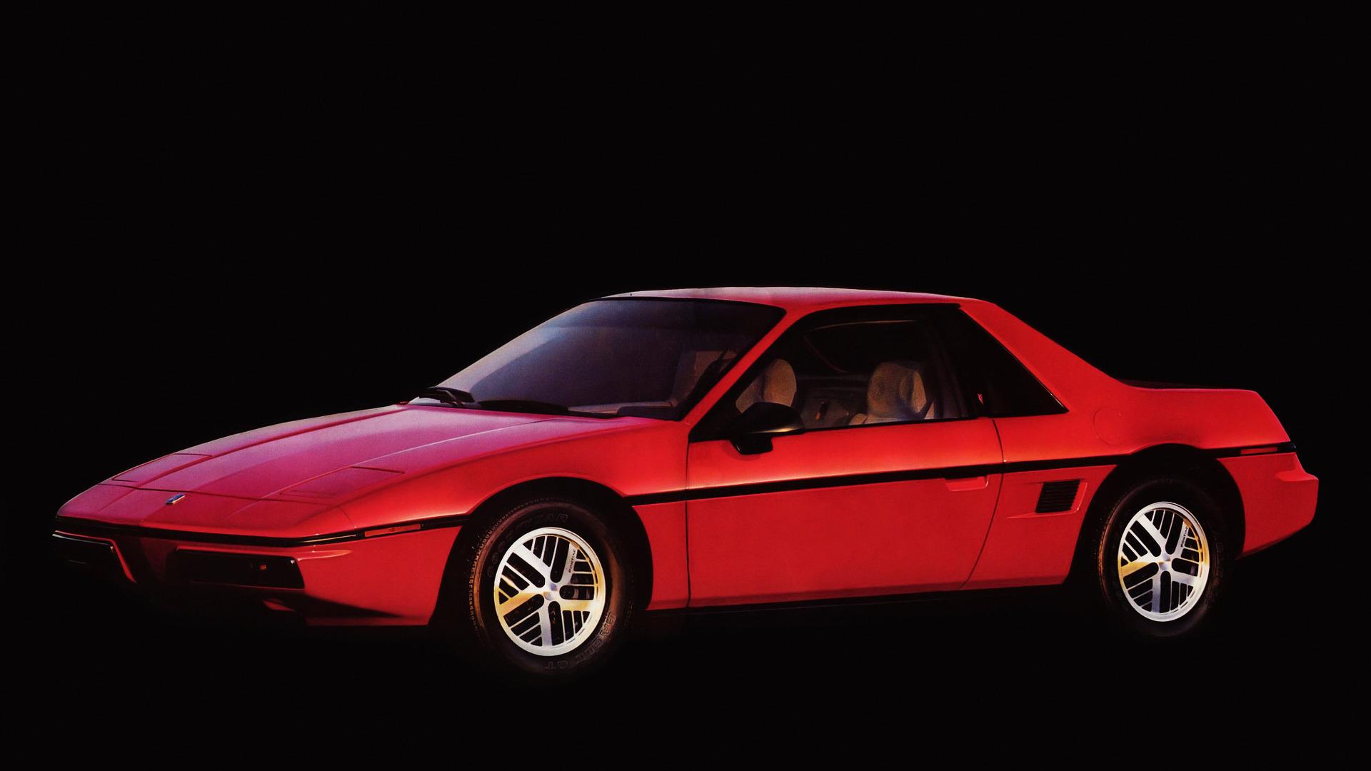 Worst Sports Cars Pontiac Fiero Drawings