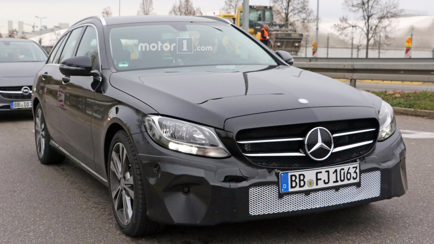 La Mercedes Classe C restylée 2017 berline et break en photos espion