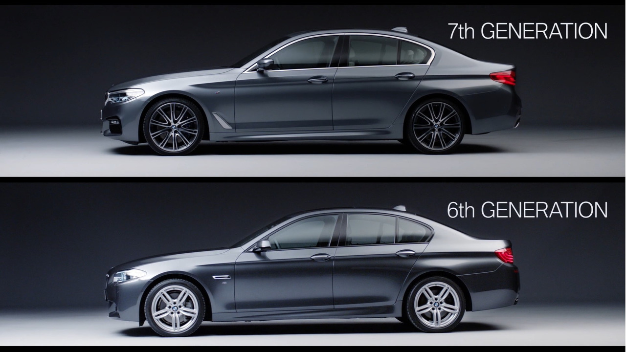 Hedendaags Old versus new: BMW 5 Series F10 and G30 video comparison YK-68
