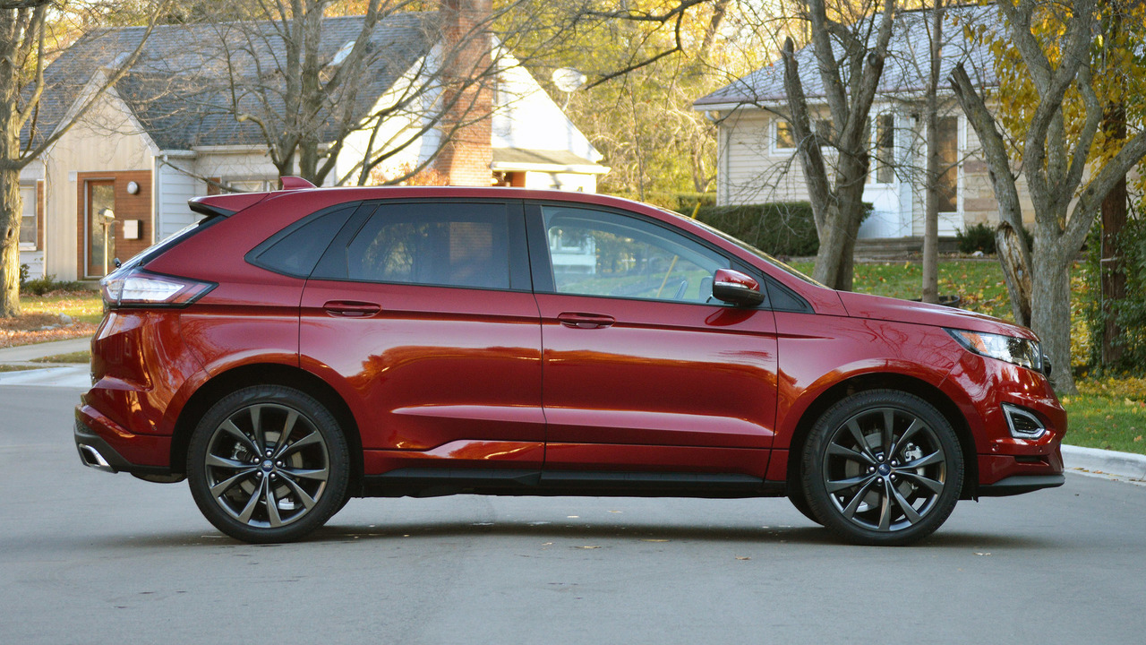 2017 ford edge sport review