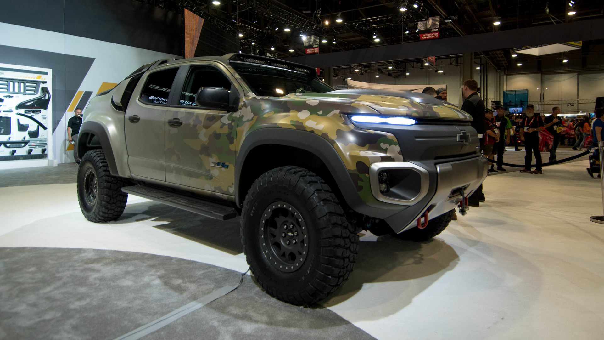 Chevy's hydrogen-powered Colorado is ready for Army testing