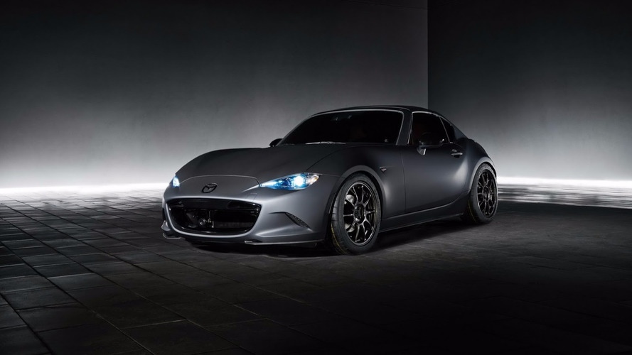 SEMA Show 2016 Mazda MX-5 Miata RF Kuro and MX-5 Speedster Concepts