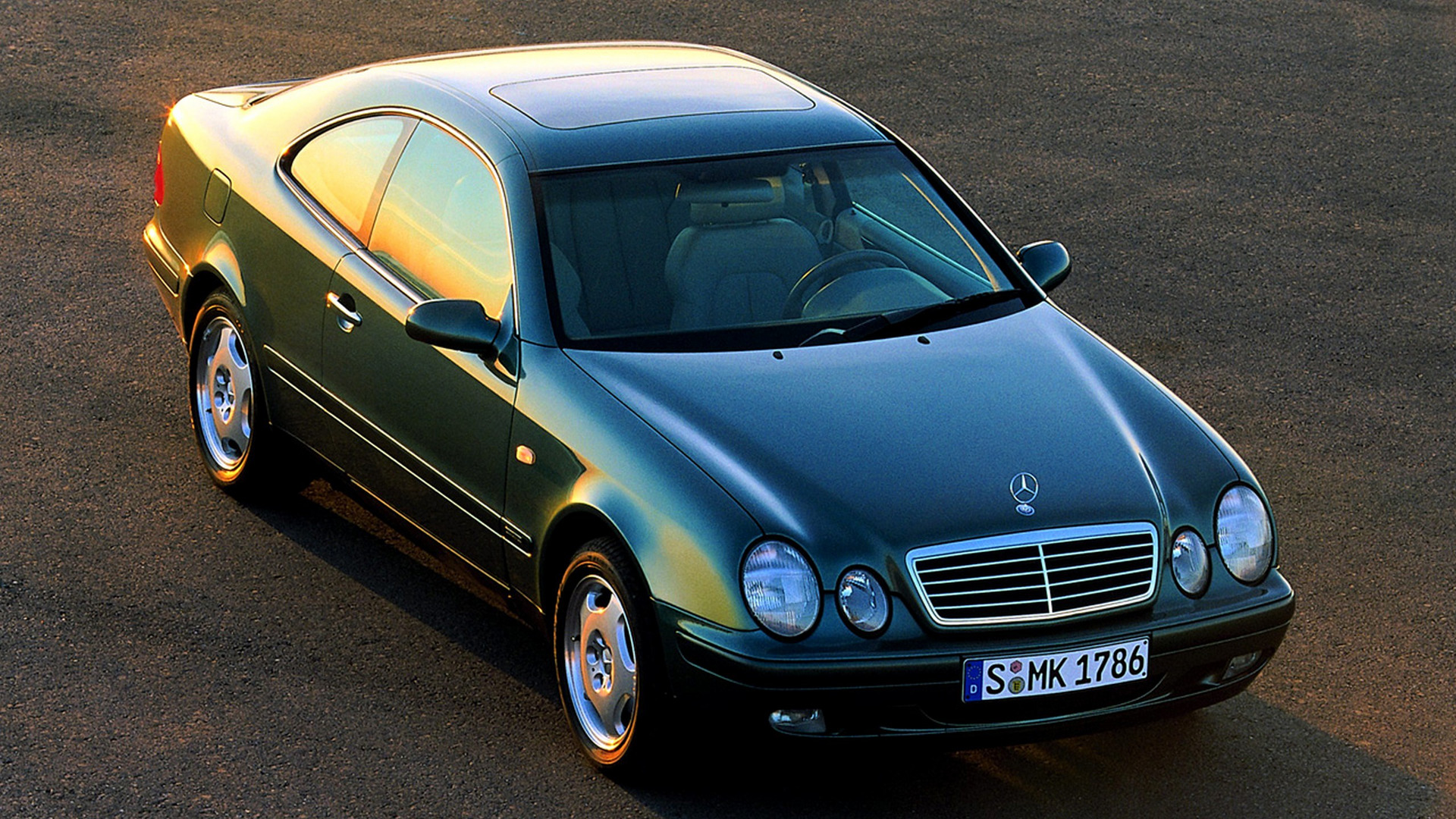 Worst Sports Cars: Mercedes CLK (first generation)