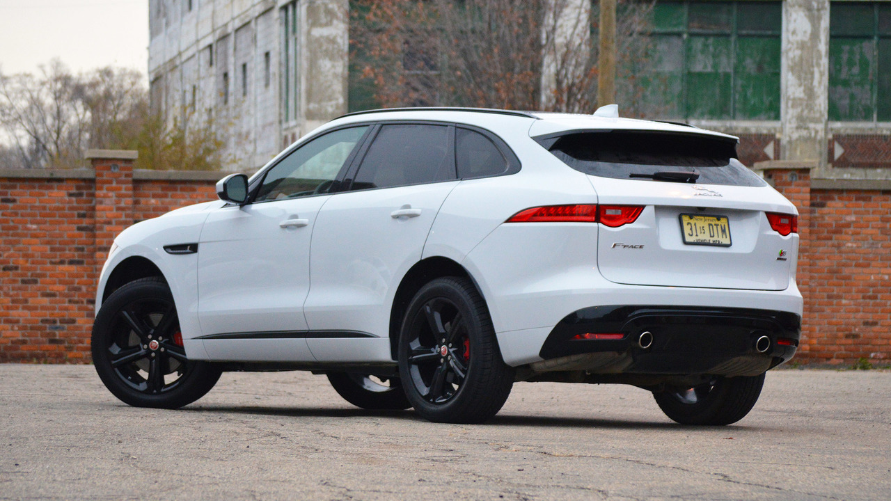 2017 Jaguar F Pace Review Does Everything Well