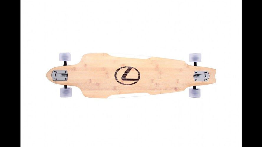 Lexus is now in the longboard business