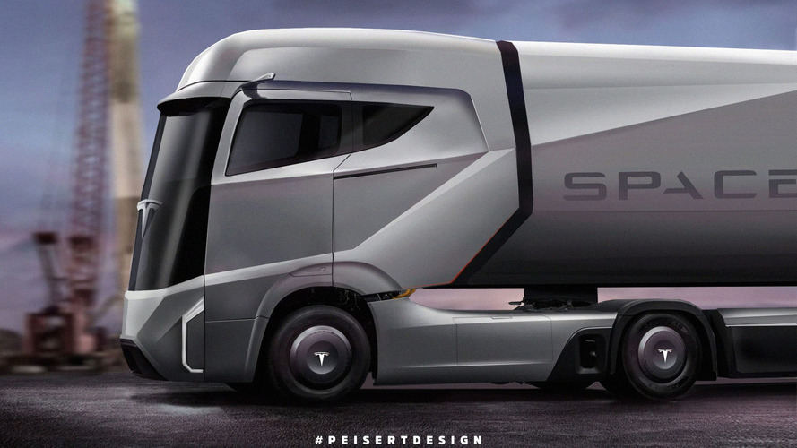 Tesla Semi Truck Coming This September, Pickup To Follow