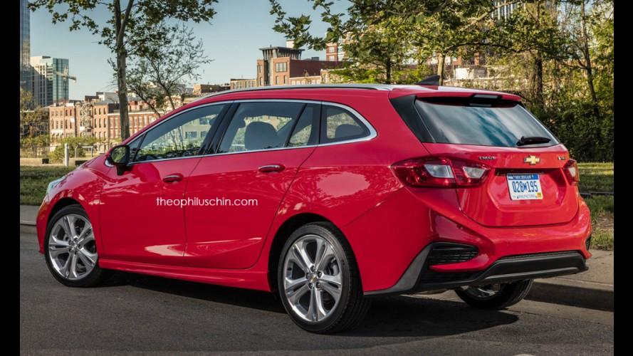 Chevrolet Cruze SW: projeção prevê visual da perua de nova geração