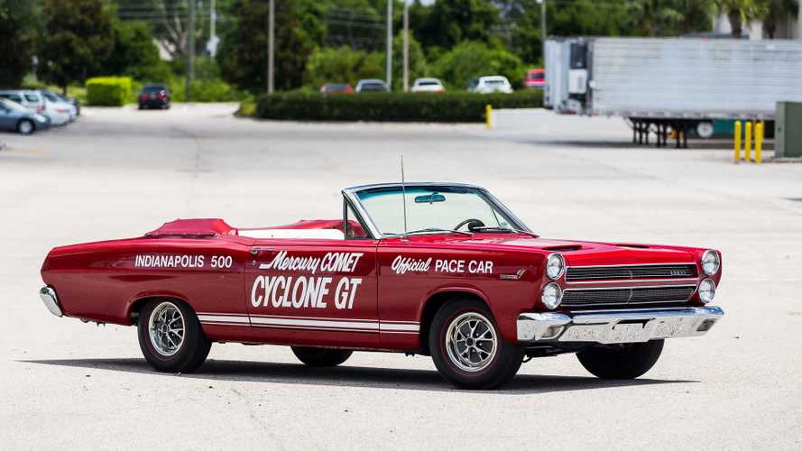 Set The Pace In This 1966 Mercury Cyclone GT Convertible
