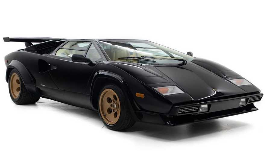 At $349K, Could This Black-And-Tan Euro-Spec Countach Be Perfect?