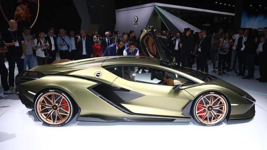 Lamborghini'nin ilk elektrikli aracı Sian tanıtıldı