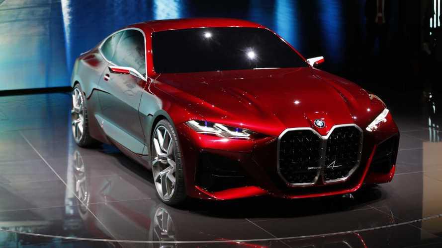 BMW Concept 4 prevê próximo Série 4 com gigantesca grade frontal