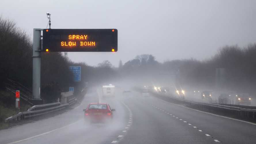 Each rainy day sees 16 serious injuries on British roads