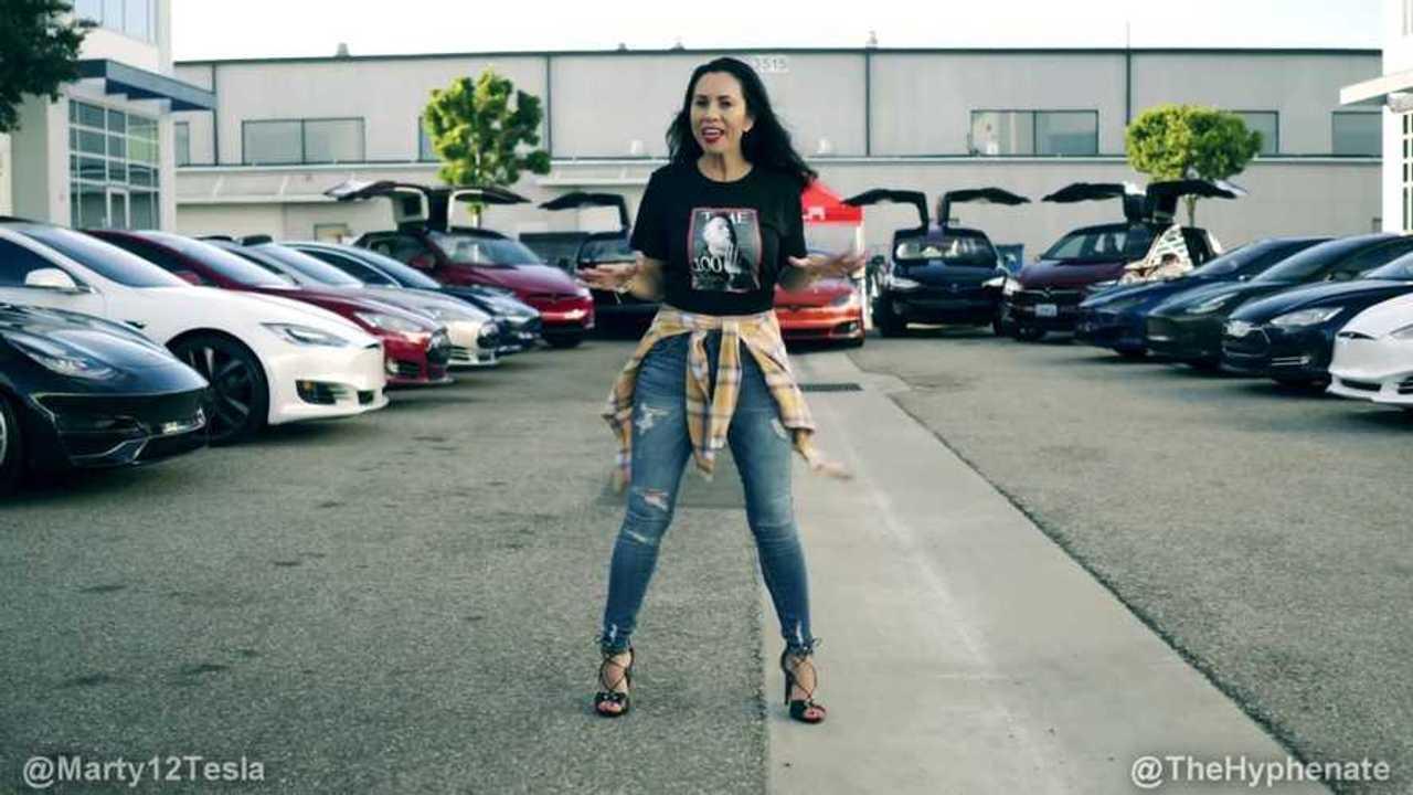 tesla music video